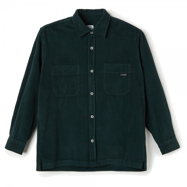 Chemise Polar Cord Shirt Dark Green