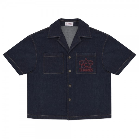 Chemise Thames DE Shirt Indigo