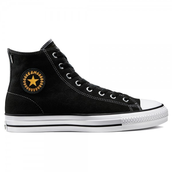 Converse Ctas Pro Hi Black Laser Orange White Milton Martinez