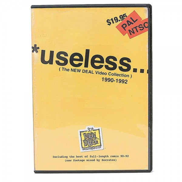 DVD New Deal 30th Anniversary Useless ...