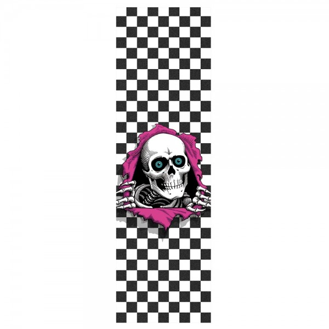 Grip Powell Peralta Ripper Checker White 9X33