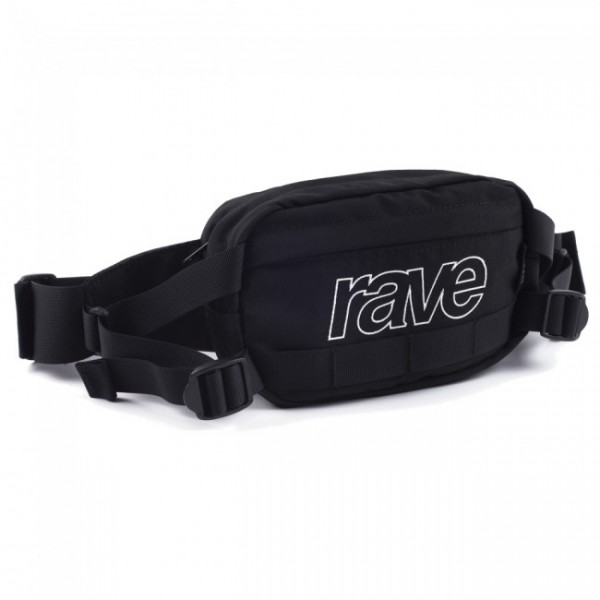 Banane Rave Hip Pack Black Purple