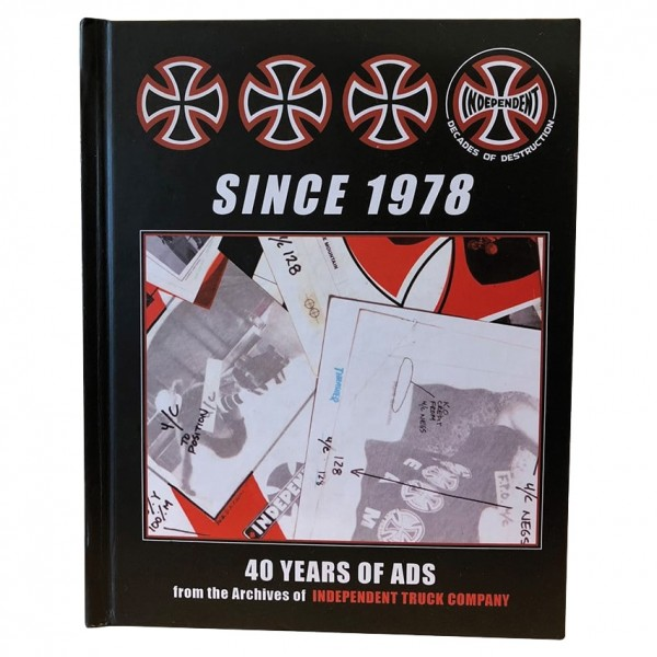 Livre Independent 40 Years Of Ads