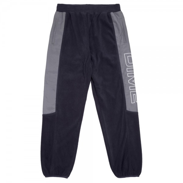 Pantalon Polaire Dime Polar Fleece Track Pant Navy Charcoal