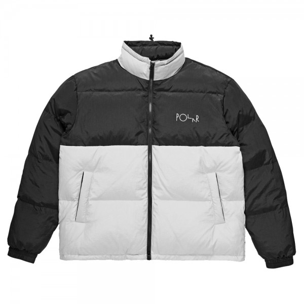 Parka Polar Combo Puffer Black Ice Grey