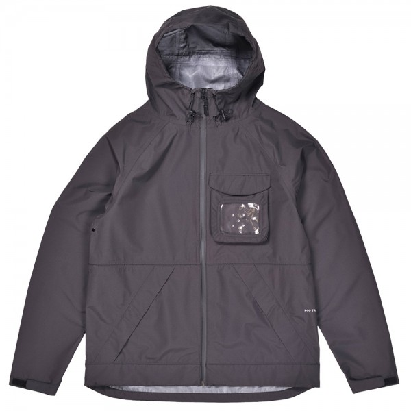 Parka Pop Trading Company Oracle Jacket Anthracite