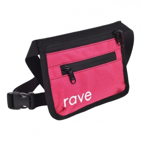 Pochette Rave Slim Fanny Pack Pink