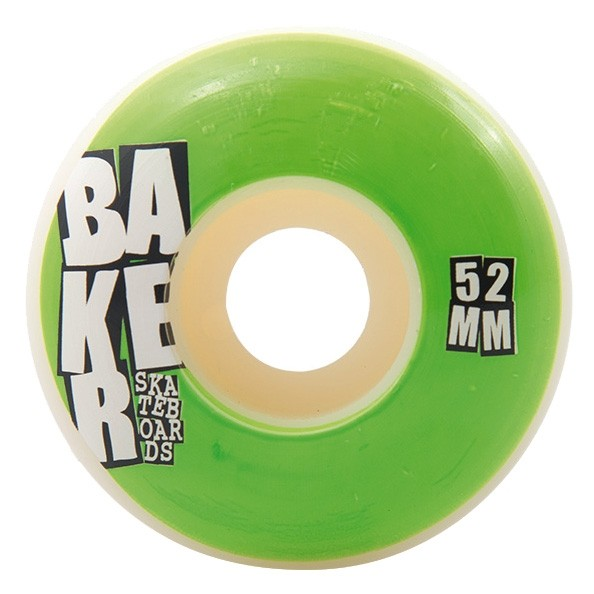 Roues Baker Stacked Neon Green