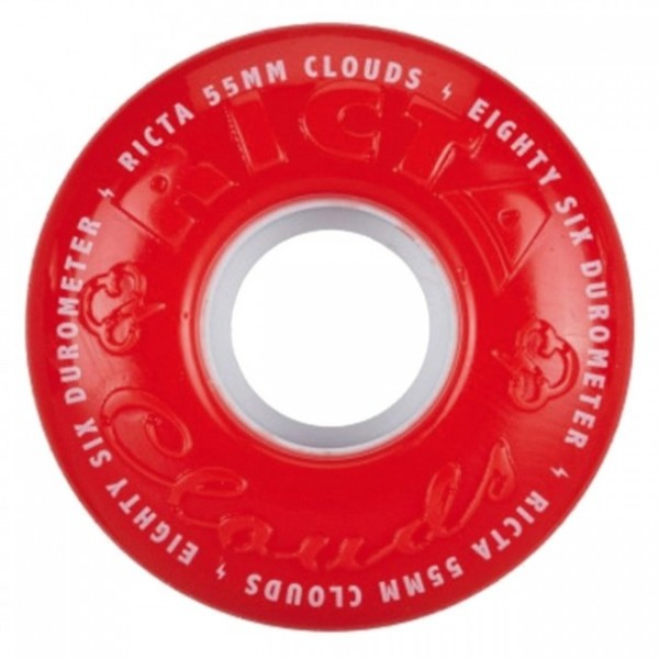 Roues Ricta Clouds Red 86A