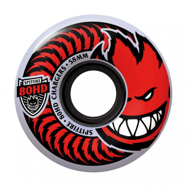Roues Spitfire Charger Classic Clear 80HD