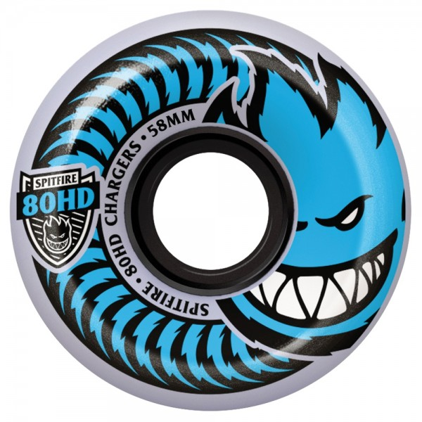 Roues Spitfire Charger Conical Clear 80HD