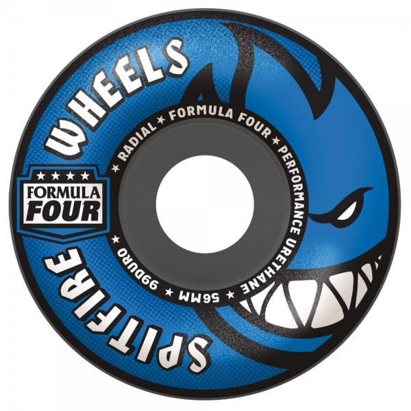 Roues Spitfire Formula Four 99 D Radials Grey Blue