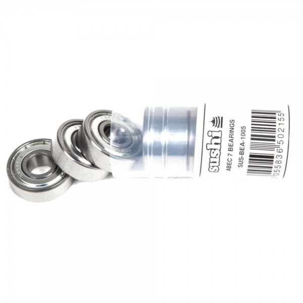 Roulements Sushi Bearings Abec 3 Chrome Steel