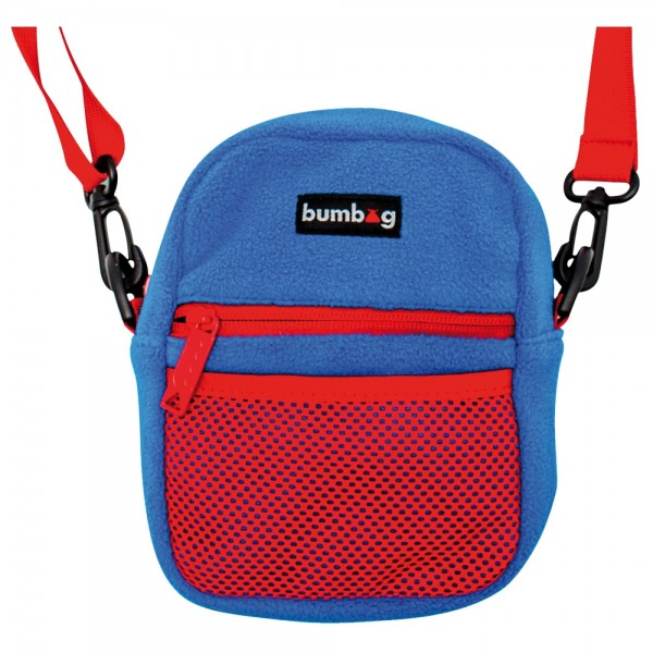 Sac Bum Bag Compact Collab Franky Blue Red