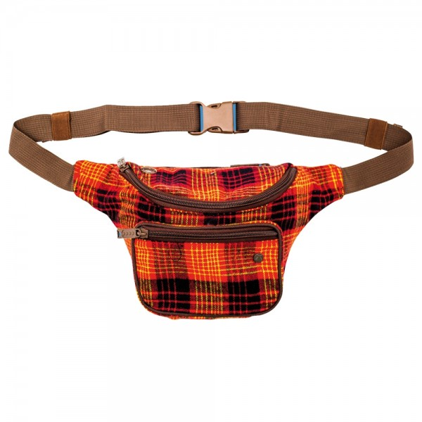 Sac Bum Bag Deluxe Collab Willis Red Plaid