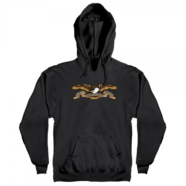 Sweat Capuche Antihero Eagle Hood Black