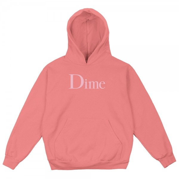 Sweat Capuche DIme Classic Salmon