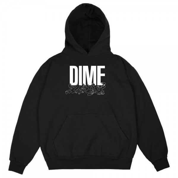 Sweat Capuche Dime Support Hoodie Black