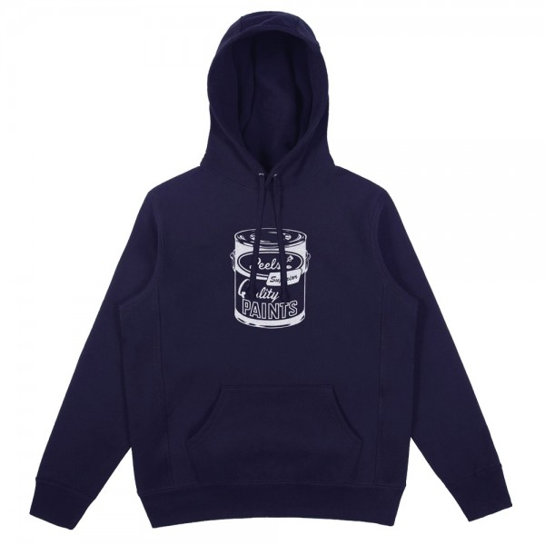 Sweat Capuche Peels Heavy-Weight (Reverse Weave) Paint Can Embroidered Navy