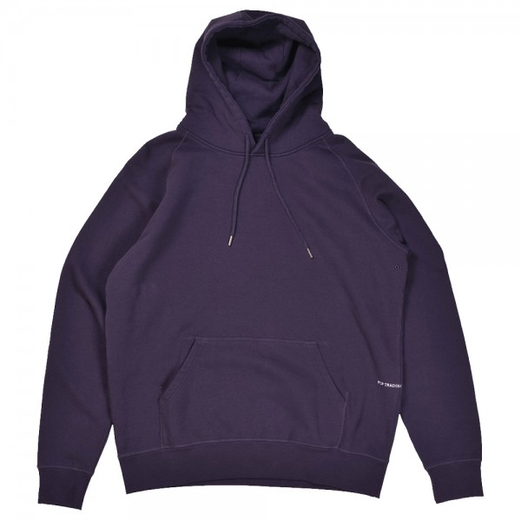 Sweat Capuche Pop Trading Company Logo Hood Sweat Dark Purple
