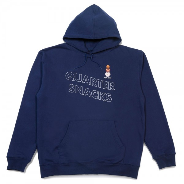 Sweat Capuche Quartersnack Snackman Navy