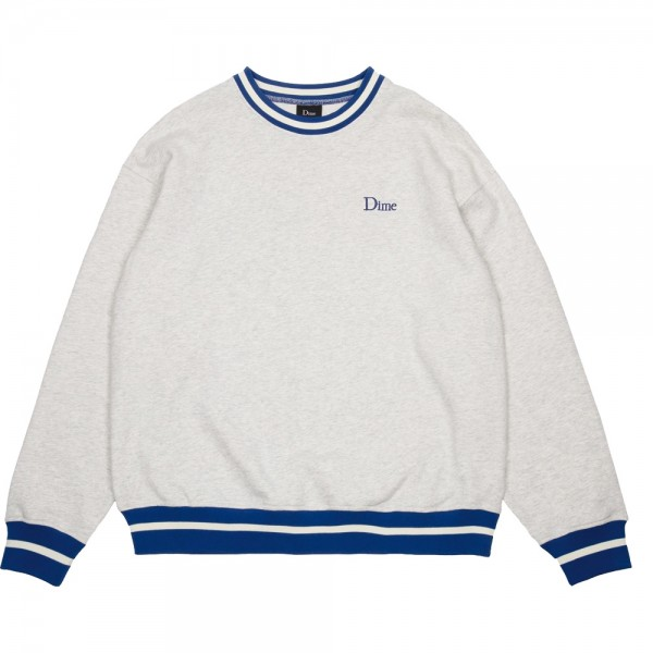 Sweat Dime Classic French Terry Crewneck Ash