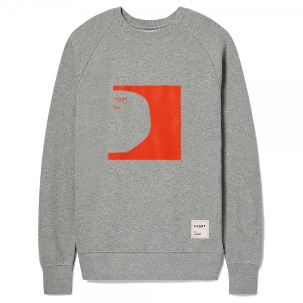 Sweat Leroy Republique Half Pipe Bright Red