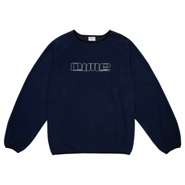 Sweat Polaire Dime Polar Fleece Crewneck Navy