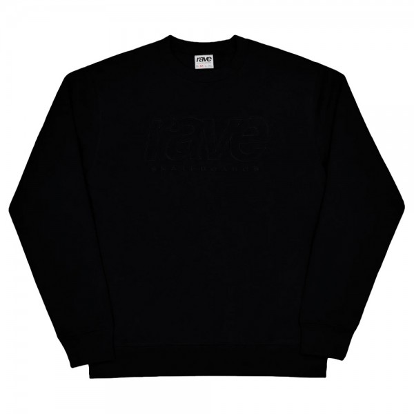 Sweat Rave Core Logo Crewneck Black