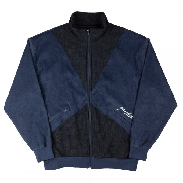 Sweat Yardsale Alan Velour Fullzip Navy