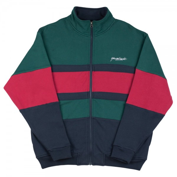 Sweat Yardsale Dior Fullzip Green Navy Red