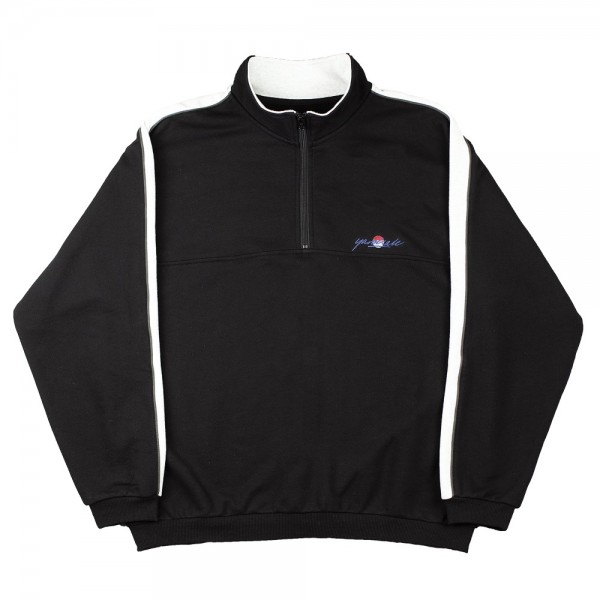Sweat Yardsale Sun Quarterzip Black