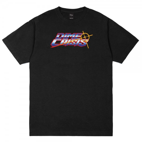 Tee Shirt Dime Crisis Black