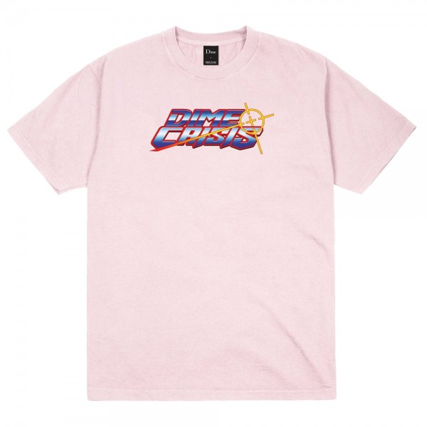 Tee Shirt Dime Crisis Light Pink
