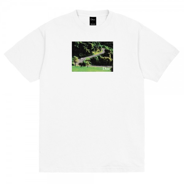 Tee Shirt Dime Joy Ride White