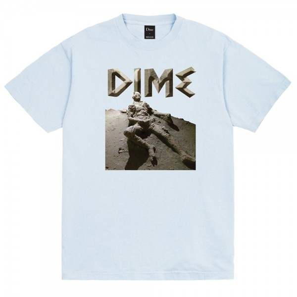 Tee Shirt Dime Last Try Light Blue