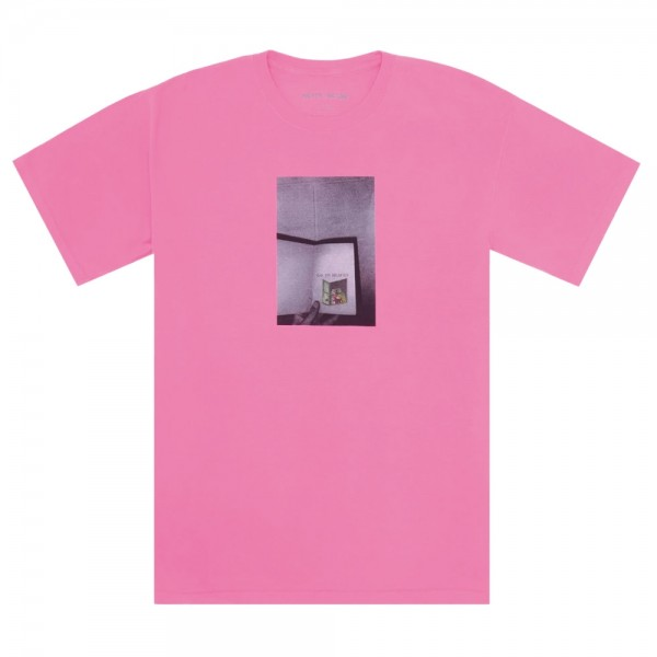 Tee Shirt Fucking Awesome Go To Heaven Pigment Dyed Neon Pink