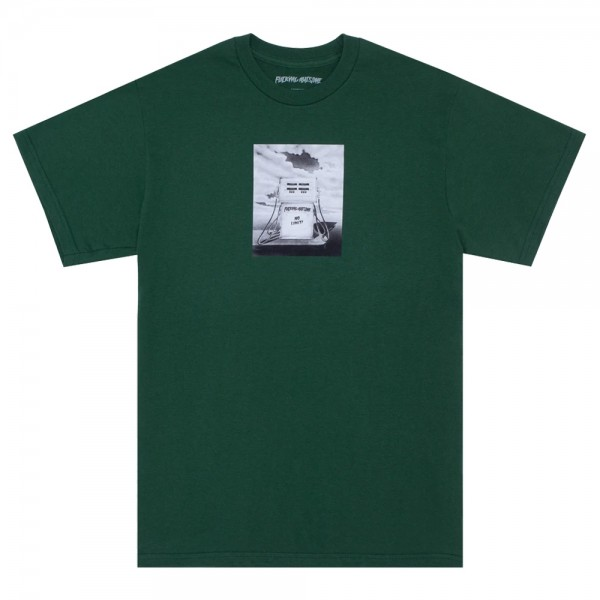 Tee Shirt Fucking Awesome No Limit Tee Forest Green