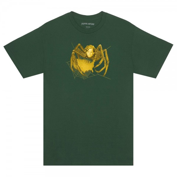 Tee Shirt Fucking Awesome Spider Pigment Dyed Hemp