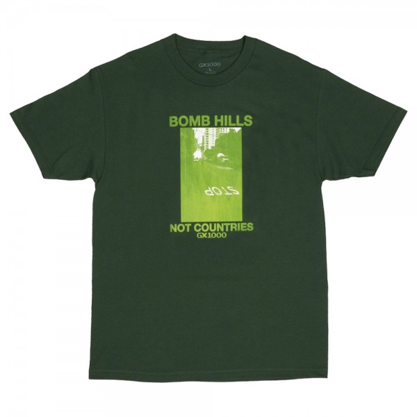 Tee Shirt GX1000 Bomb Hills Not Country Forest