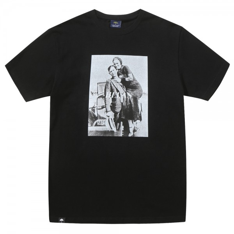 Tee Shirt Helas Bonnie And Clyde Tee Black