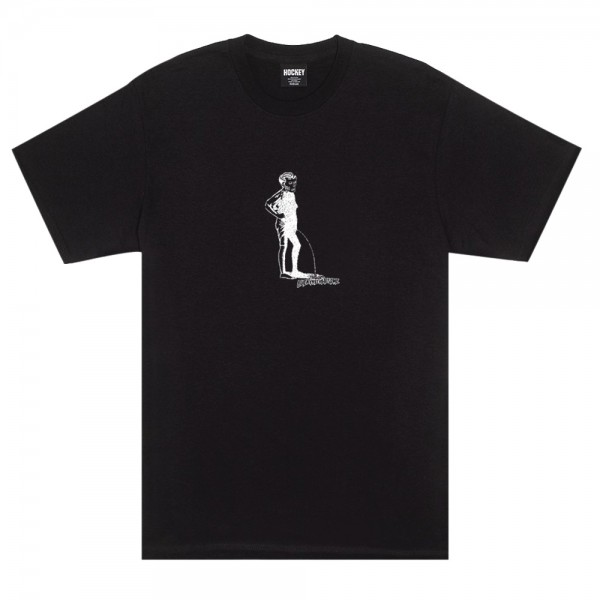 Tee Shirt Hockey Piss Black