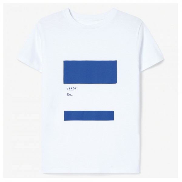 Tee Shirt Leroy Kids Ledge Klein Blue