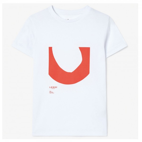Tee Shirt Leroy Republique Ditch Rouge