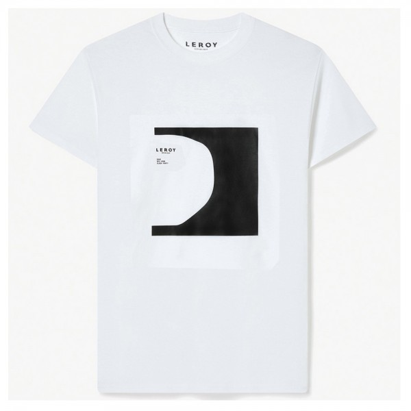 Tee Shirt Leroy Republique Half pipe Black