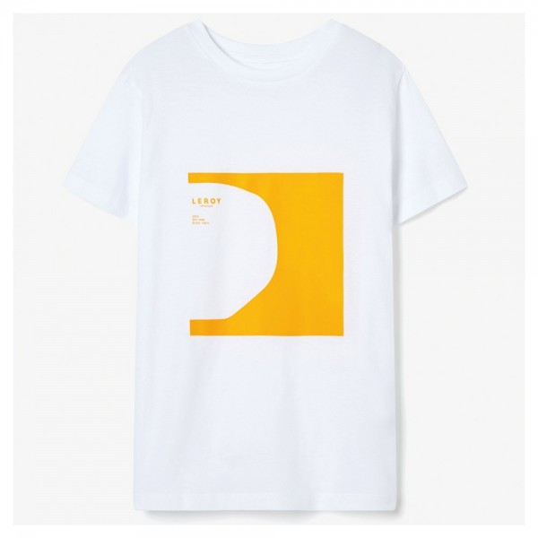 Tee Shirt Leroy Republique Kids Half Pipe Yellow