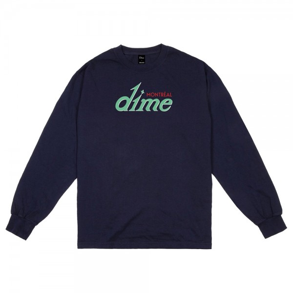 Tee Shirt Manches Longues Dime Hotel Navy
