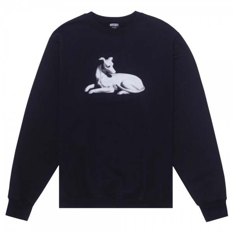 Tee Shirt Manches Longues Hockey Greyhound Tee Black