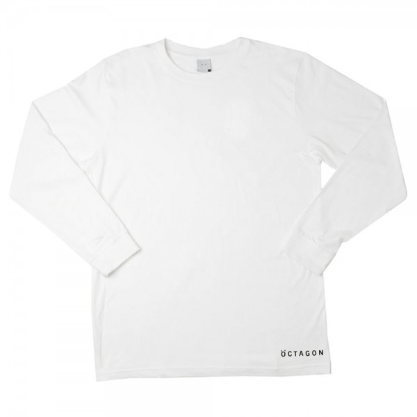 Tee Shirt Manches longues Octagon Cotype White