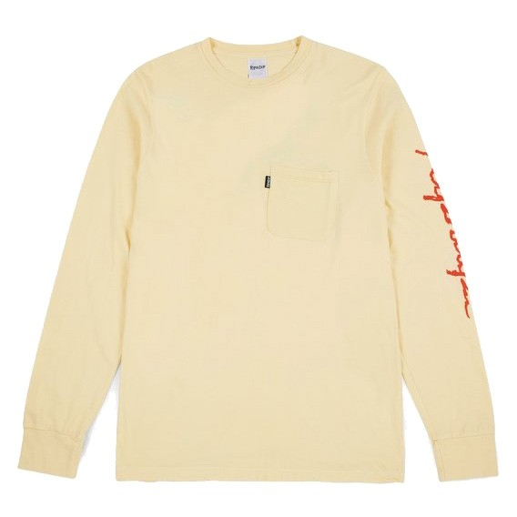 Tee Shirt Manches Longues Rip N Dip Dead Rose LS Yellow